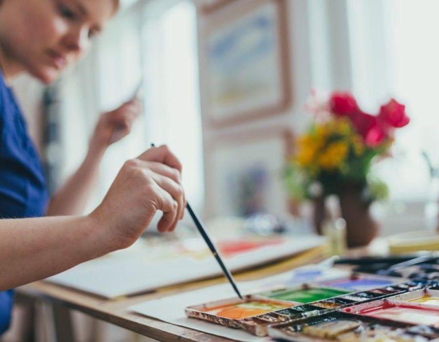 ده نکته اول برای نقاشی با آبرنگ
