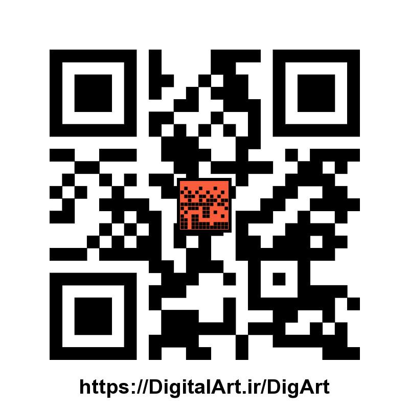 QrCode برای هنر دیجیتال