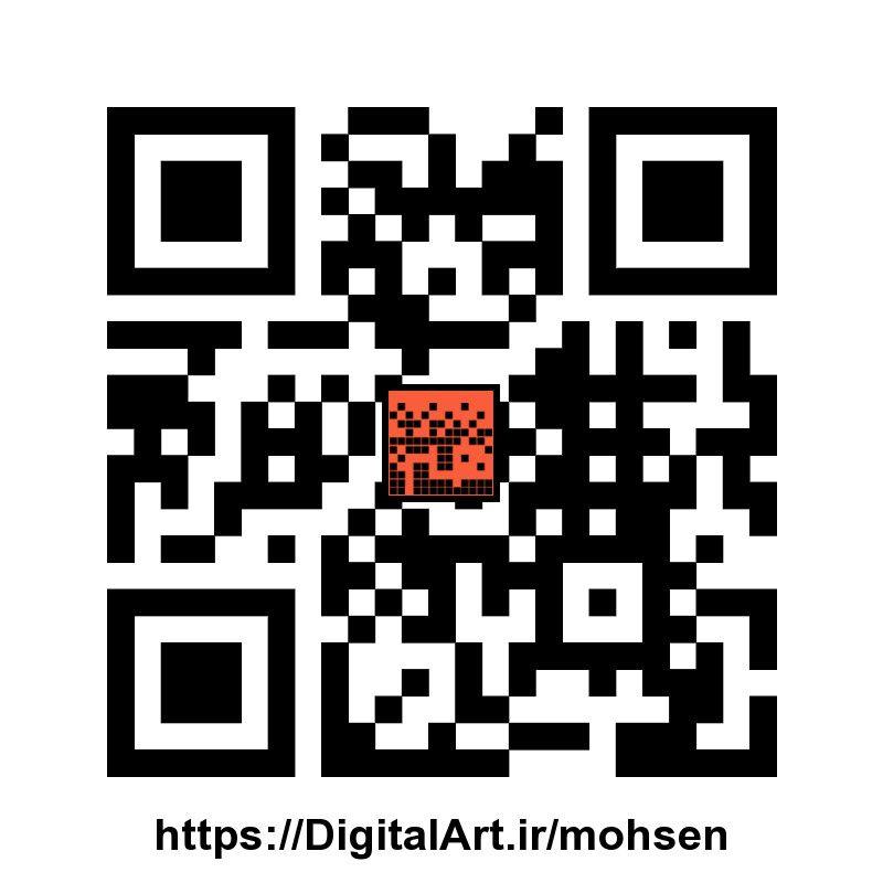 QrCode برای Mohsen Delfie
