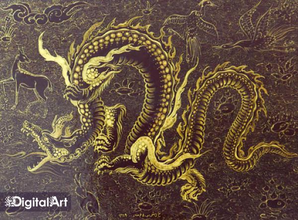 نقش اژدها در تشعیر