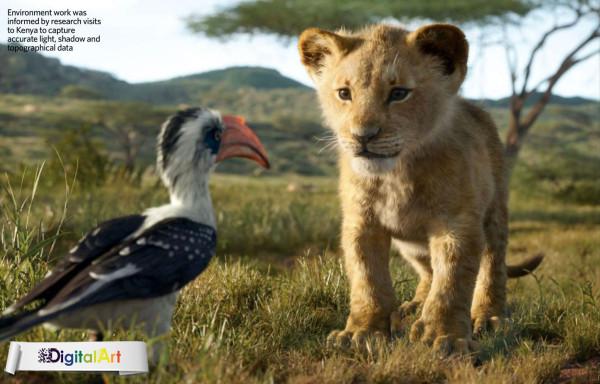 سیمبا و زازو در شیر شاه مجله 3D Artist